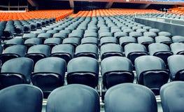 File delle sedie vuote Immagine Stock Libera da Diritti