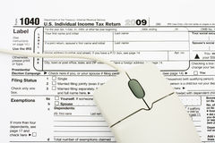 File your taxes returns online Royalty Free Stock Image