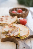 Filed flatbreads Stock Photography