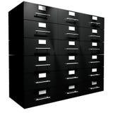 Filedrawer Lizenzfreies Stockfoto