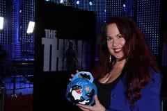 Fileena Bahris. At The Thing World Premiere, AMC Citywalk Stadium 19, Universal City, CA 10-10-11 Royalty Free Stock Photos