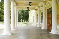Fileira das colunas foto de stock royalty free