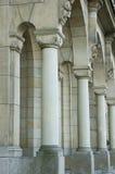 Fileira das colunas Fotos de Stock
