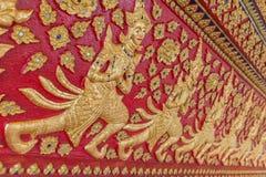 Fileira de mulheres dos Carvings Imagem de Stock Royalty Free