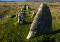 Fileira de pedra Imagem de Stock Royalty Free