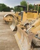 Fileira do equipamento de construção Imagens de Stock Royalty Free