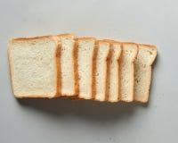 Fileira dos brindes do pão Foto de Stock Royalty Free