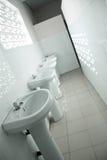 Fileira dos faucets Foto de Stock