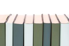Fileira dos livros Fotos de Stock