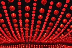 Fileiras da lanterna Imagem de Stock Royalty Free