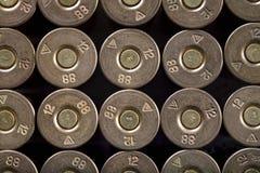 Fileiras das balas, Imagens de Stock Royalty Free