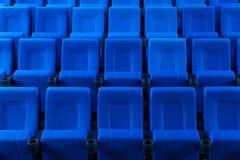 Fileiras de assentos do teatro Imagens de Stock Royalty Free