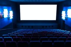 Fileiras de assentos do teatro Fotos de Stock Royalty Free