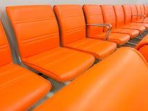Fileiras de cadeiras Imagem de Stock Royalty Free