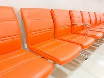 Fileiras de cadeiras Foto de Stock Royalty Free