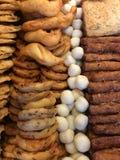 Fileiras do alimento Fotos de Stock Royalty Free