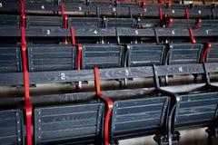 Fileiras do assento Imagem de Stock