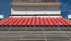 Fileiras do estádio Fotografia de Stock