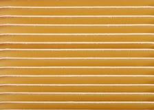 Fileiras horizontais de cartões de Manila Imagens de Stock