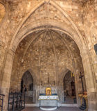 Filerimos修道院内部  库存照片