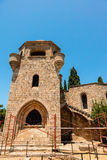 Filerimos修道院在罗得岛 库存照片