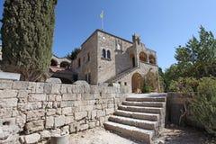 Filerimos Acropolis Rhodes island, Greece Royalty Free Stock Images