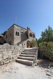 Filerimos Acropolis Rhodes island, Greece Stock Photos