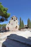 Filerimos Acropolis Rhodes island, Greece Royalty Free Stock Photography
