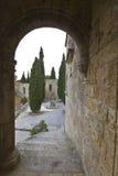 Filerimos monastery at Rhodes, Greece Royalty Free Stock Photos