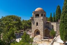 Filerimos, Rhodes Zdjęcie Royalty Free