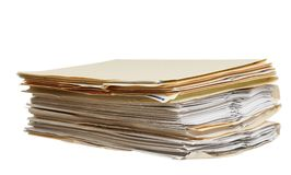Files Stock Image