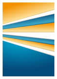 Files - abstract background. Abstract vector design - coloured files Stock Photography
