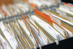 Files Abstract Stock Photo