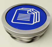 Files Button Shows Download Or Upload File. S Royalty Free Stock Image
