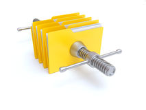 Files Compression Royalty Free Stock Photo