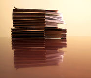 Files on Desk Royalty Free Stock Photo