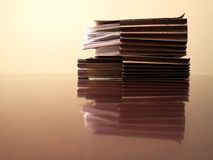 Files on Desk Stock Photos