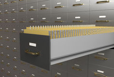 Files Drawer Stock Images