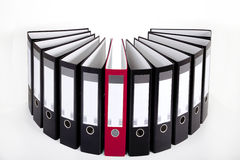 Files folder in the series. Much files folder in the series Royalty Free Stock Photography