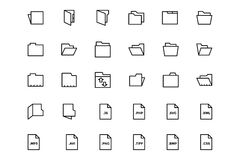 Files and folders 2. Get your work in order and organized with this File and Folders Pack! Included in this pack are  different icons, folder icons and other Stock Photos