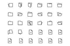 Files and folders 2 Stock Photos