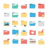 Files and Folders Vector Icons 1 Royalty Free Stock Image
