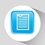 Files management design. Illustration eps10 graphic Royalty Free Stock Photography