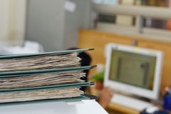 Files. Office files,An Extremely Easy-To-Use Filing System Royalty Free Stock Photo