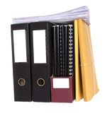 Files and papers Stock Images