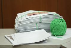 Files ready to be store away Royalty Free Stock Images