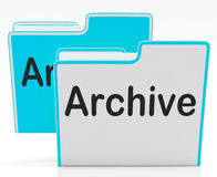 Files Showing Organising And Paperwork. Files Showing Organising Documents Filing And Paperwork Stock Photography