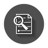 Files zoom icon. Stock Images