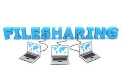 filesharing πολλαπλάσιο συνδεμέν& ελεύθερη απεικόνιση δικαιώματος