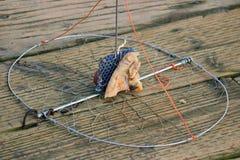 Filet amorcé de crabe Images stock